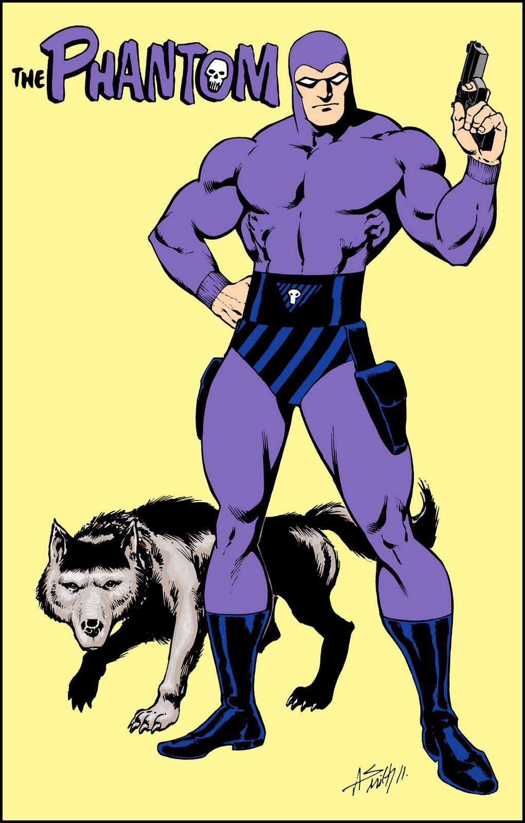 The Phantom   Phantom comics, Classic cartoon characters, Classic ...