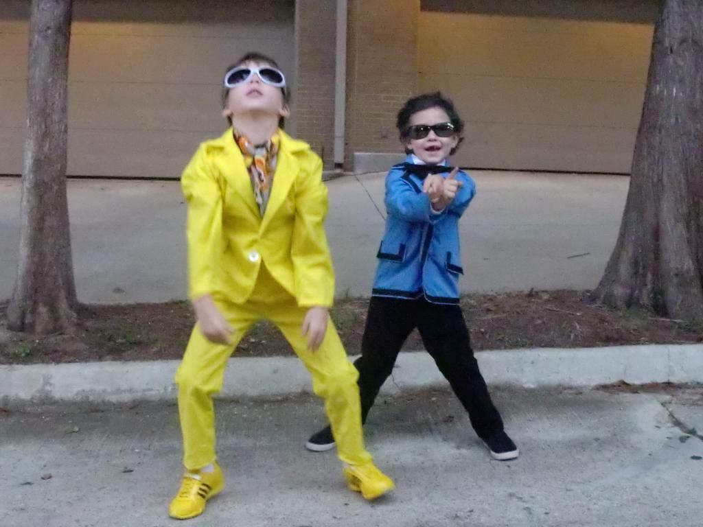 Gangnam Style Kids Psy And Yellow Suit Guy Craftster Craft