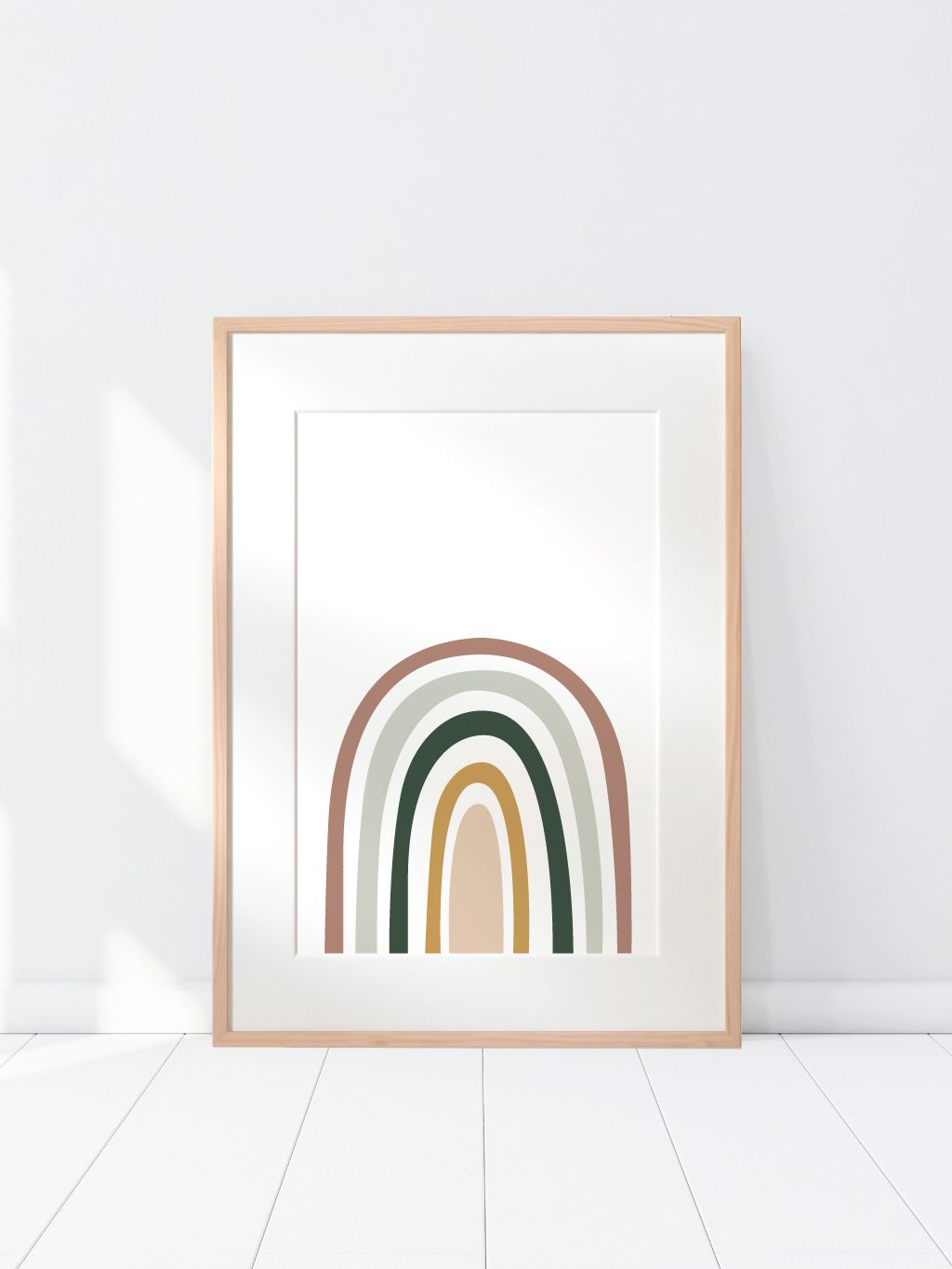 Earth Toned Rainbow  Graphics  Illustrations in 2019