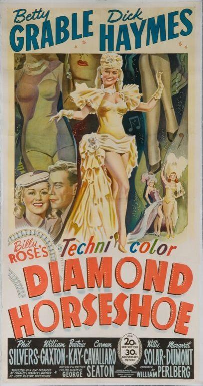 MovieArt Original Film Posters - DIAMOND HORSESHOE (1945) 19849, $525.00 (http://www.movieart.com/diamond-horseshoe-1945-19849/)