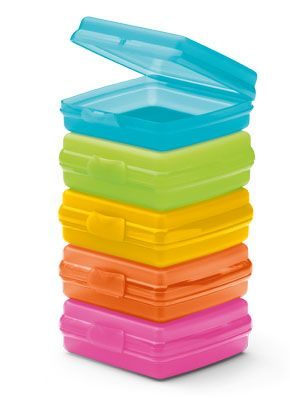 Reusable sandwich boxes from tupperware good for the