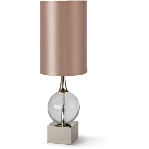 Electra Hollywood Regency Glass Orb Table Lamp Table Lamp Gold Table Lamp Crystal Table Lamps