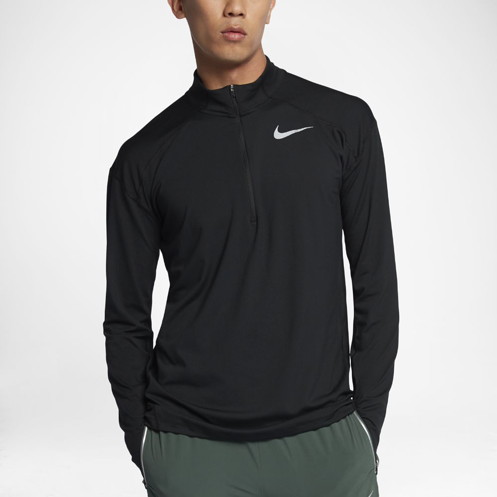 8bcab43f Nike Element Men's Long Sleeve Half-Zip Running Top Size | Products ...