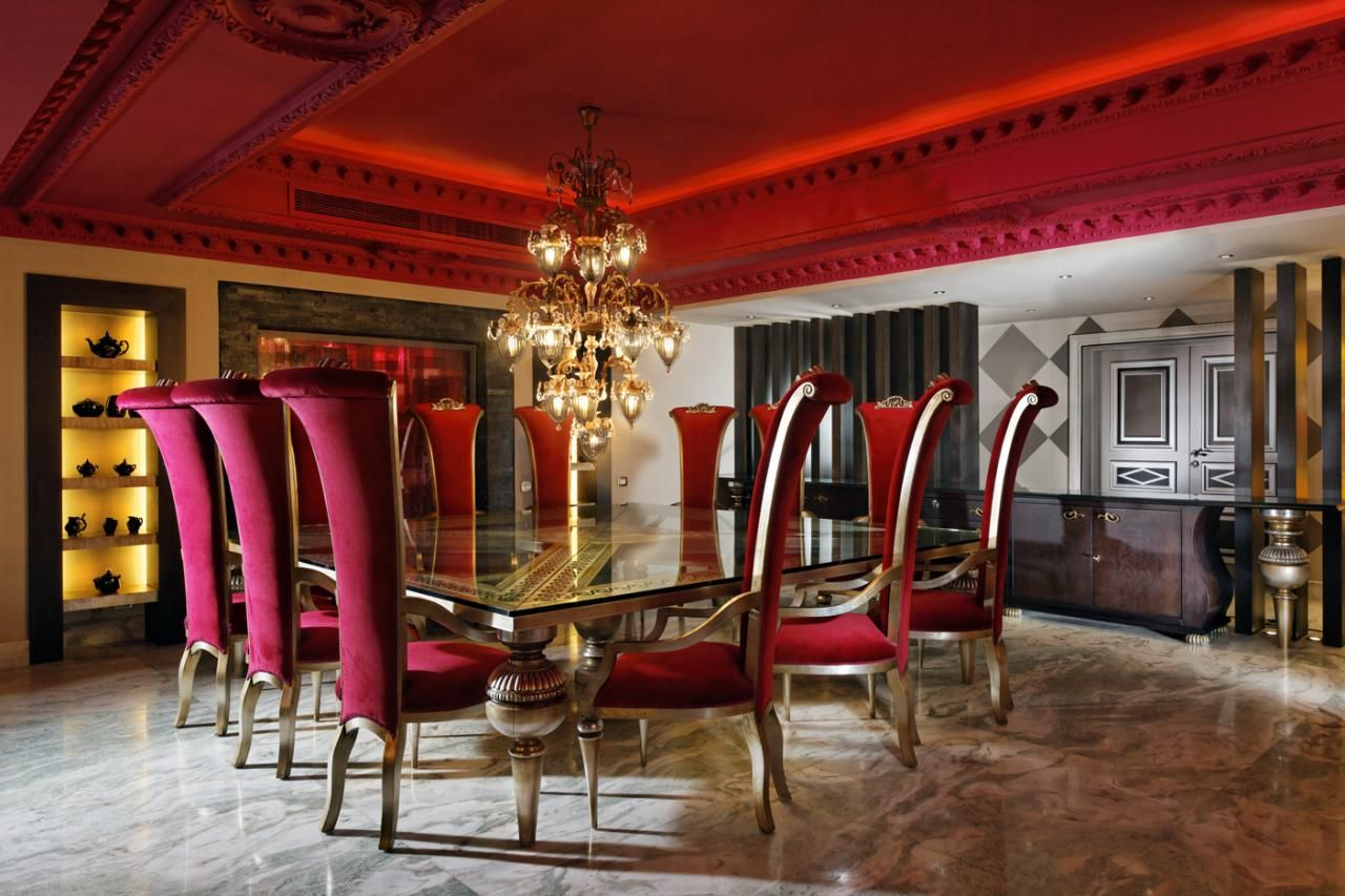 Royal Funky Dining Area  Home Decor  Pinterest  Dining Area Custom Funky Dining Room Decorating Inspiration