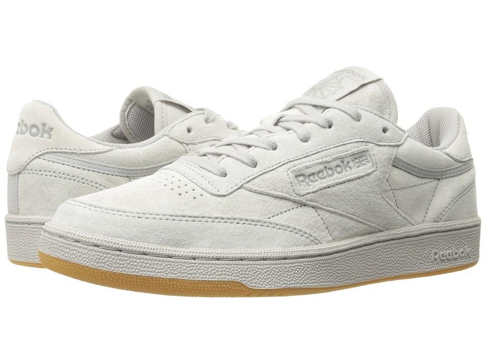 a321a38781e Reebok Lifestyle Club C 85 TG Men s Shoes Steel Carbon Gum ...