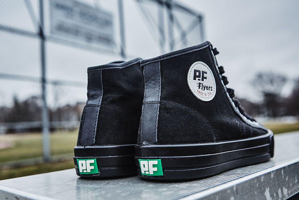 Footwear · PF Flyers Made in USA Sandlot Center Hi Sneakers. ...