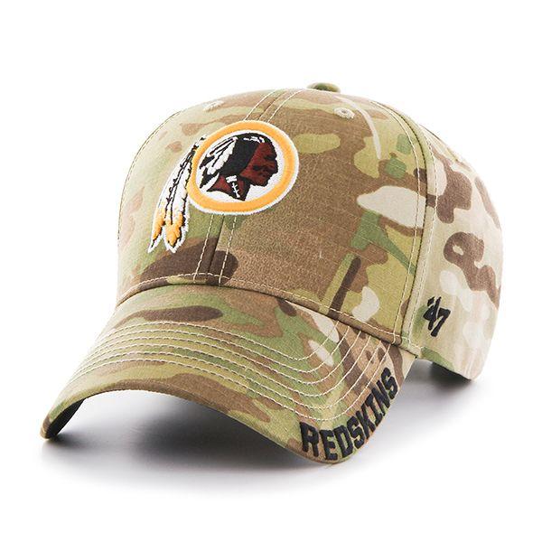 Washington Redskins Myers MVP Multicam 47 Brand Adjustable Hat ... 42cbcddf8