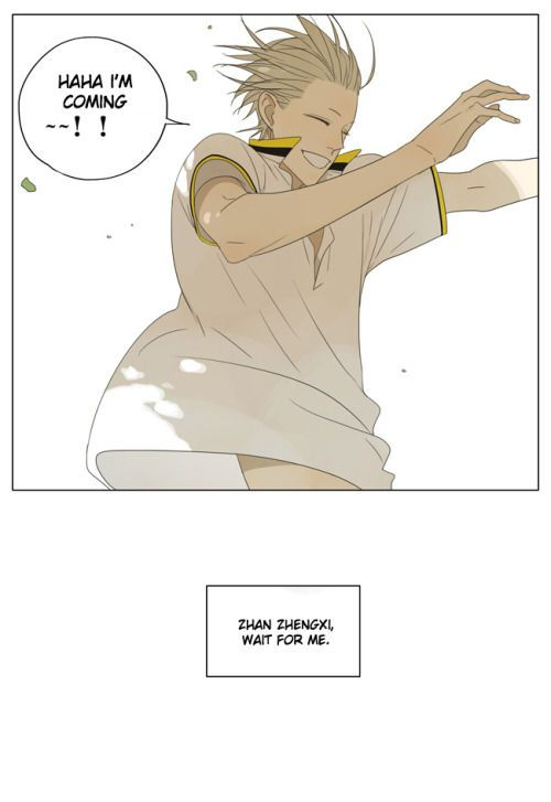 19 Days 132 Page 7 - He looks so happy here ^-^ Going to see Zhan Zhengxi! :3