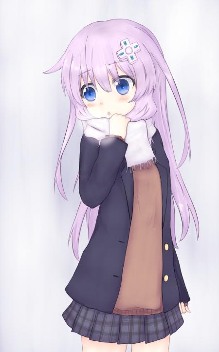 Cute Winter Nepgear