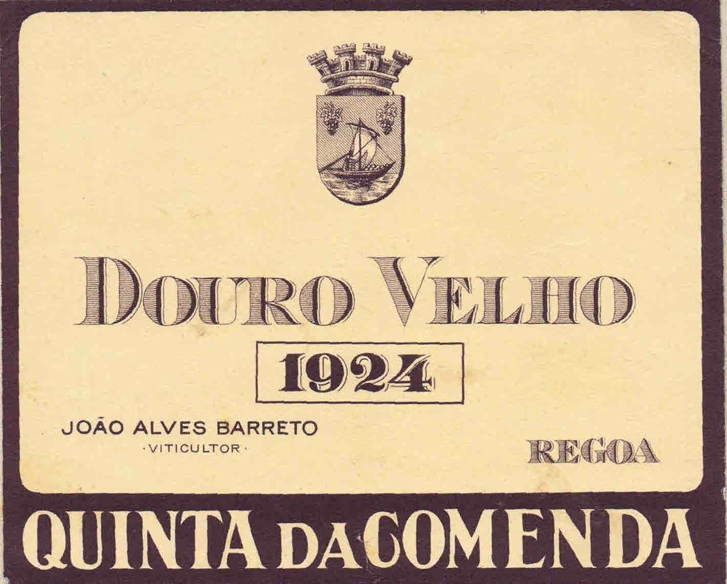 Quinta da Comenda - Douro Velho 1924