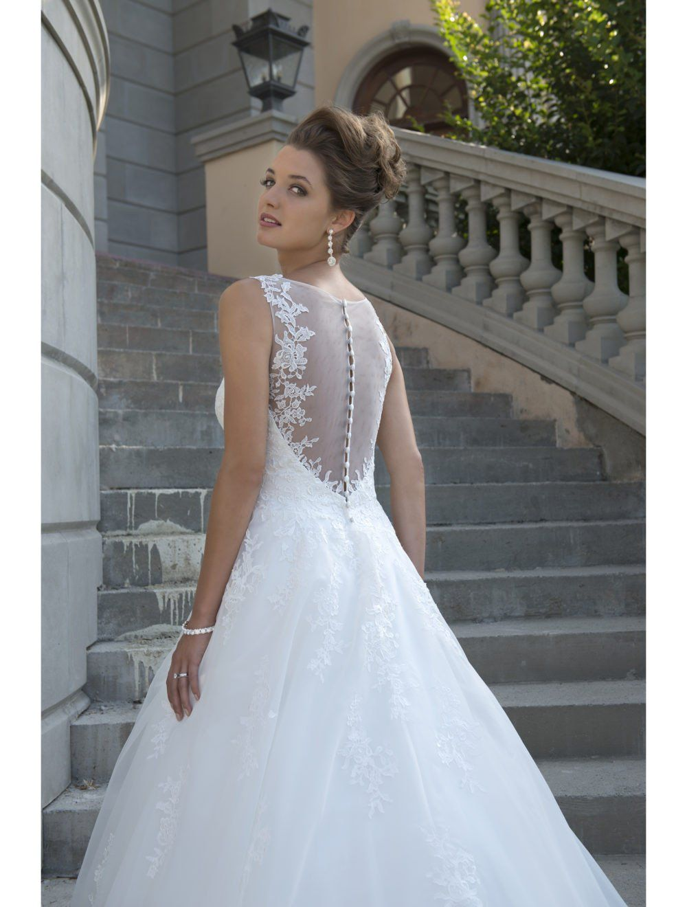 Sheer top wedding dress  At  Dresses  Pinterest  Bridal gowns Ball gowns and Gowns