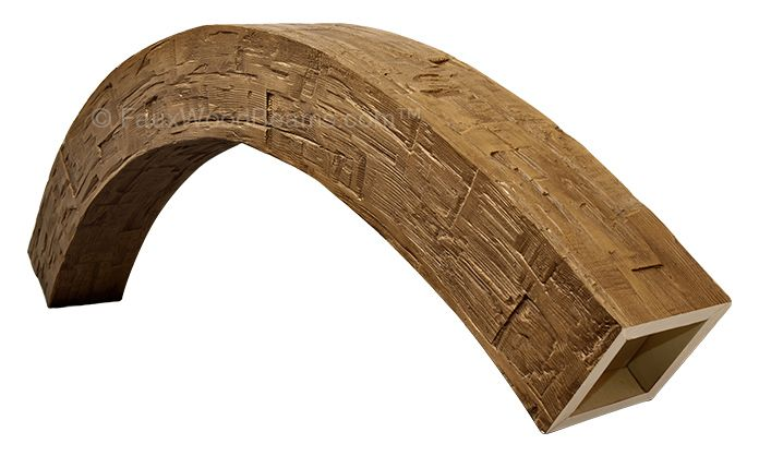 Arched Rough Hewn Beams