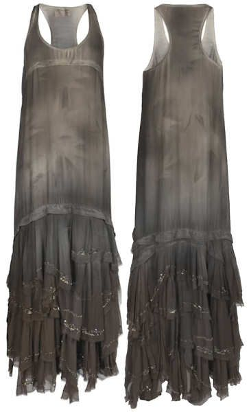 574d48af9d0 The All Saints Eider Maxi Dress is a sleeveless pure silk maxi dress with a  vest shaped top