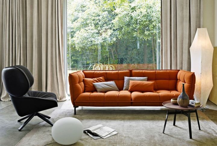 17 Luxurious Italian Sofa Brand Designs Patricia Urquiola Couch Decor Modern Fabric Sofa