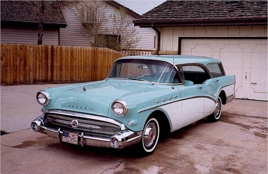 1957 buick caballero estate wagon for sale da de. Black Bedroom Furniture Sets. Home Design Ideas