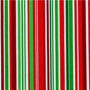 Chr 33 Red Green Amp White Multi Stripe Fabric Is 43 Quot 44