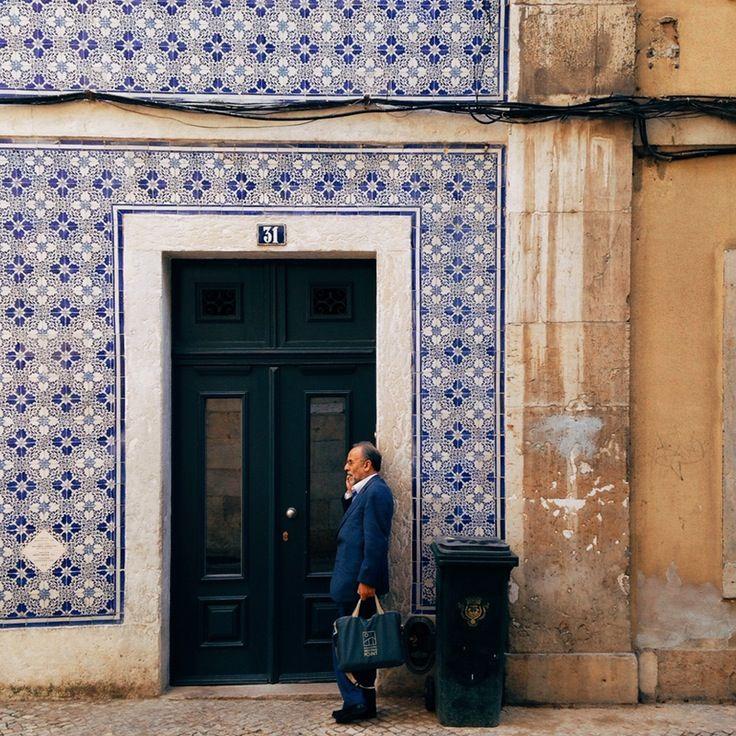 Lisbon  / 2014 #vscocam #Lisbon #Portugal #Tiles