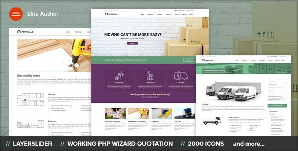 REMOVALS - Removals and Moving Template