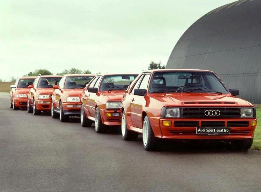 Evolution Of Audi Quattro Evolutions Pinterest Audi Audi