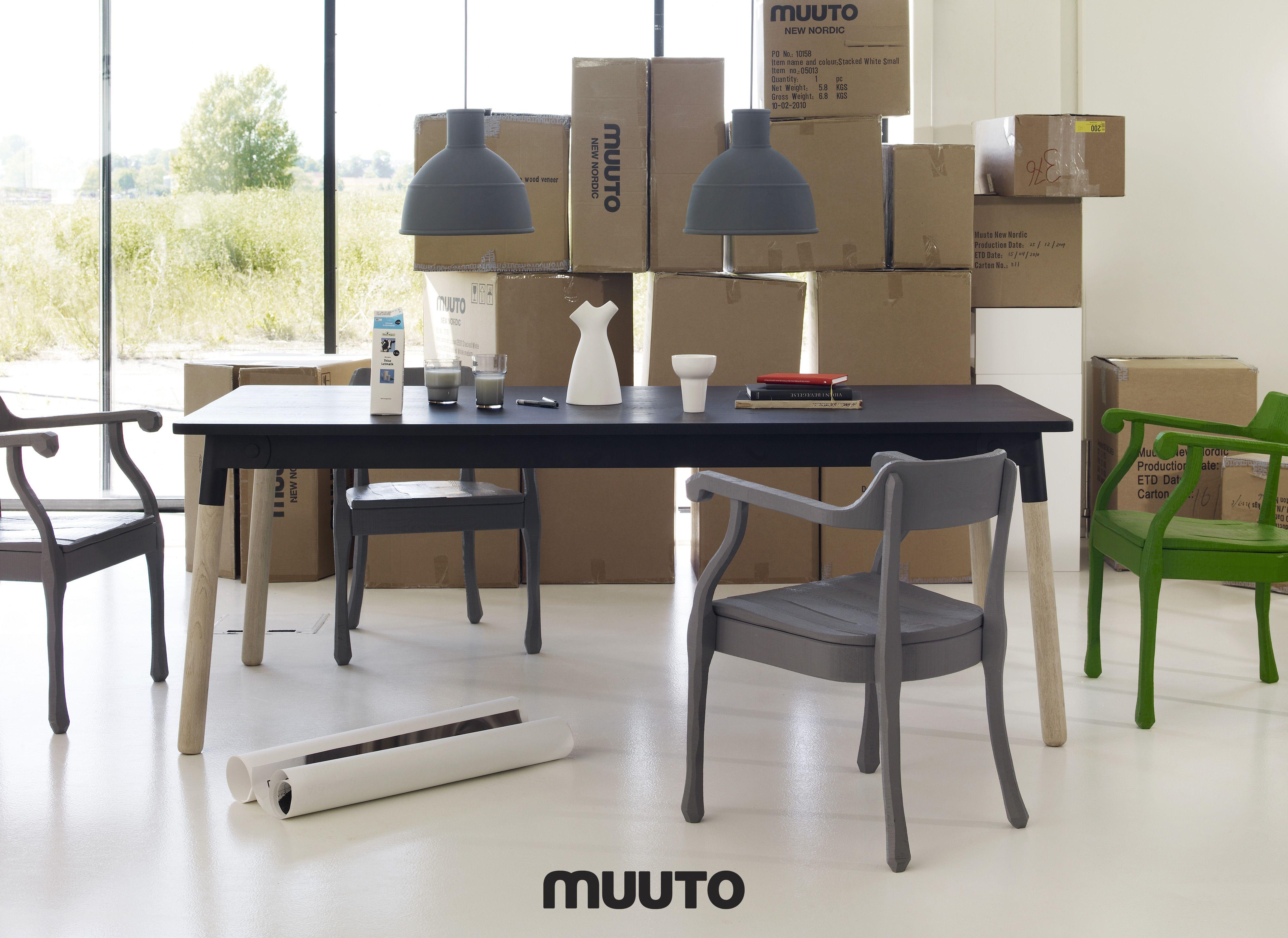 Muuto Www Scandinavia Design Fr Esszimmerleuchten Tisch