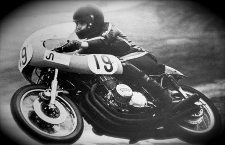 Honda CB750 road racer.