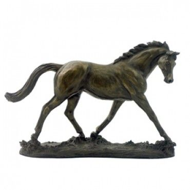 Bronze Mare /& Foal ornament by David Geenty horse lover gift figurine sculpture
