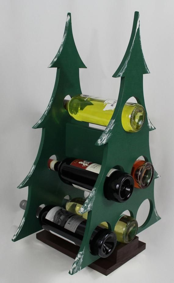 Wine Bottle Christmas Tree Rack.Pin On Products