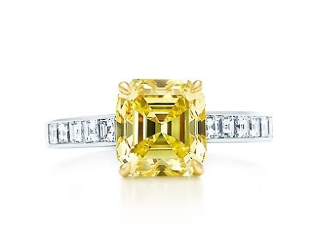Tiffany & Co. Fancy Yellow Diamond Ring