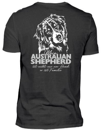 AUSTRALIAN SHEPHERD Familie Backprint Hunde, Australian