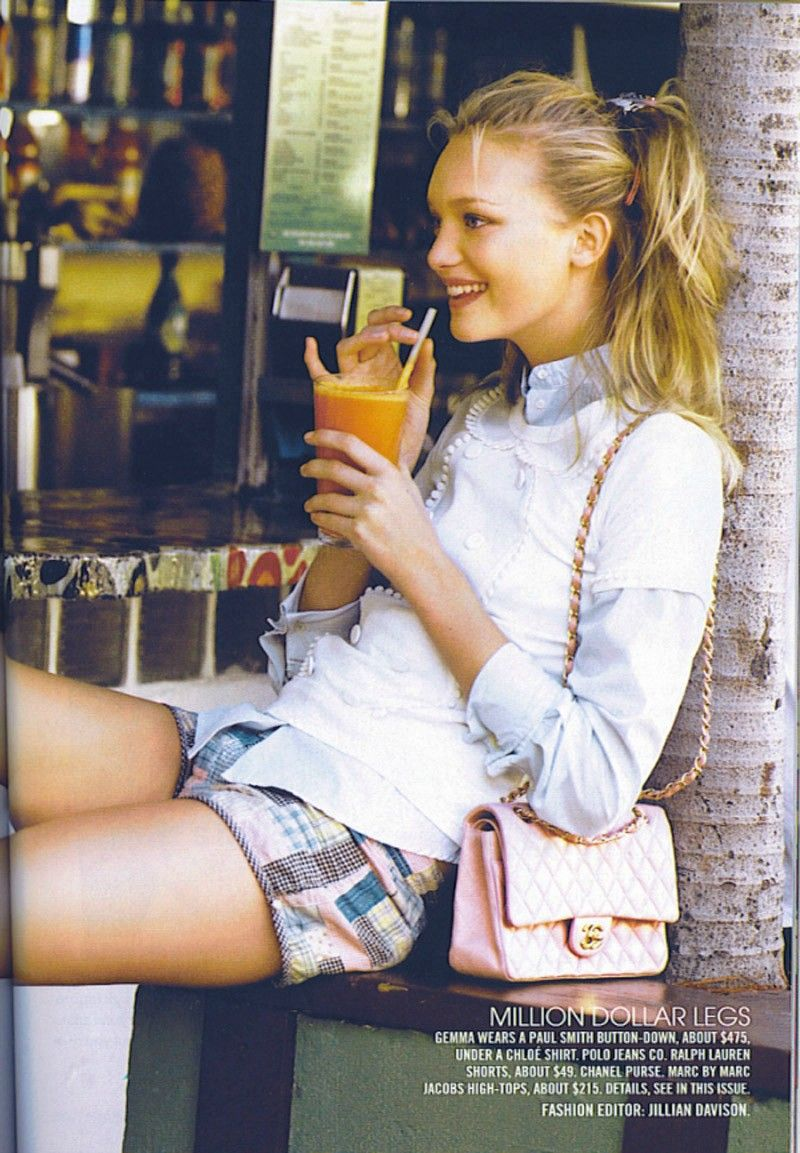 this has to be my favorite teen vogue spread of all time... love gemma ward and this shoot!!!