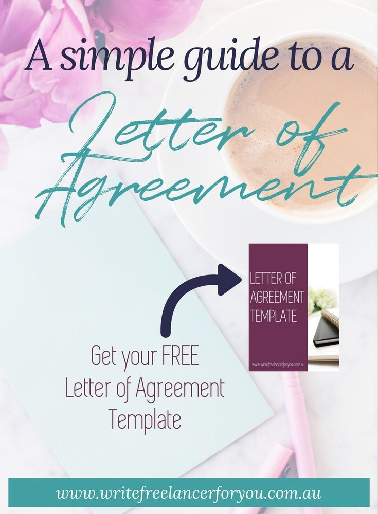 Discover How To Write A Quick And Easy Letter Of Agreement That