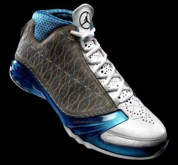 76e522264f31f7 Air Jordan XX3 - White Titanium-University Blue - 01-25-2008 ...