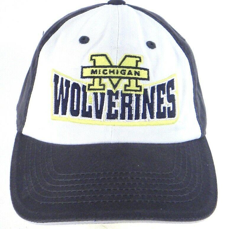 572b04a5d0c97 Michigan Wolverines NCAA Strapback Cap Hat Captinating Headwear 1-Stop   CaptinatingHeadwear  MichiganWolverines