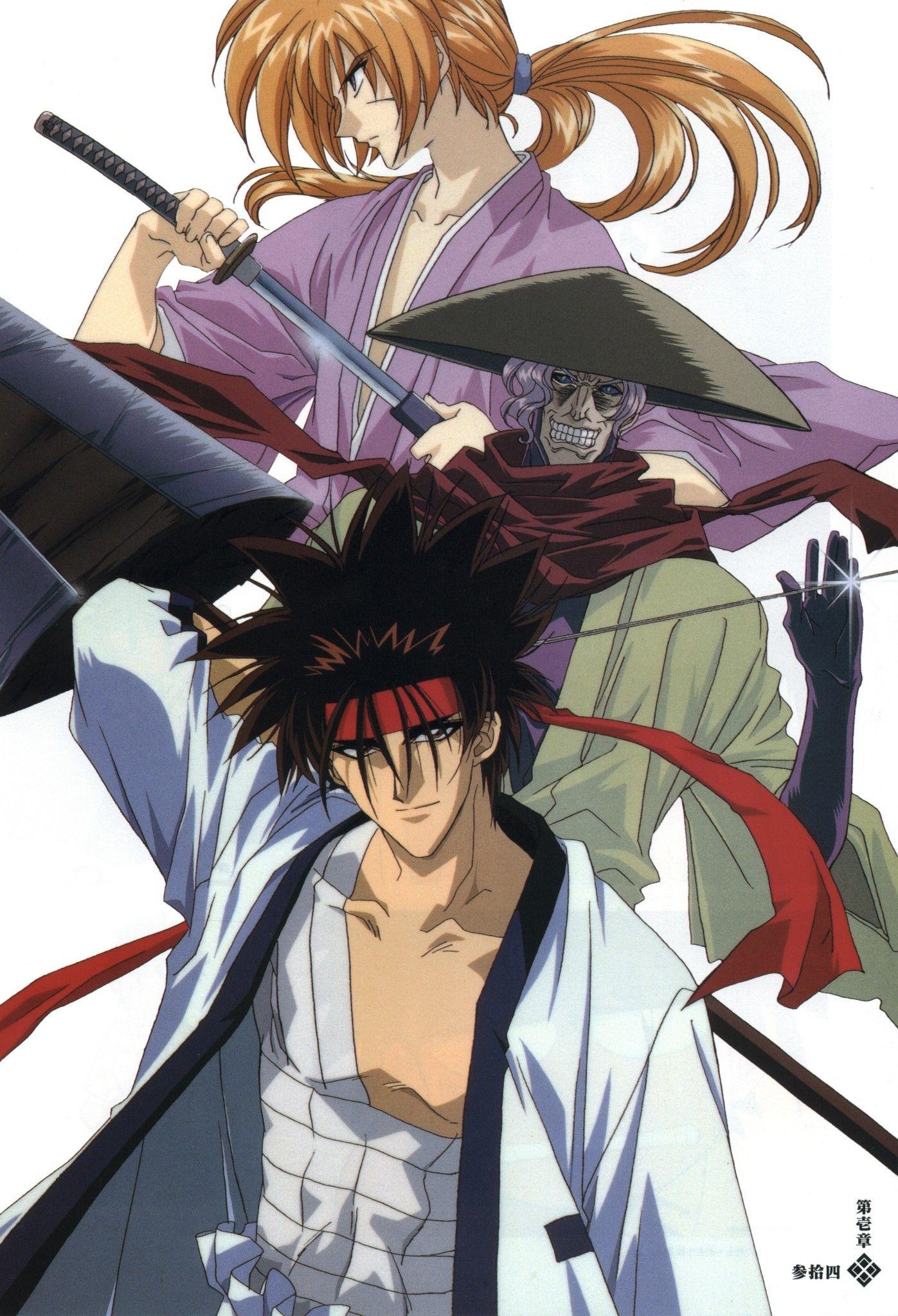 Pin de Masud Tazrian em Anime Anime, Artistas, Samurai