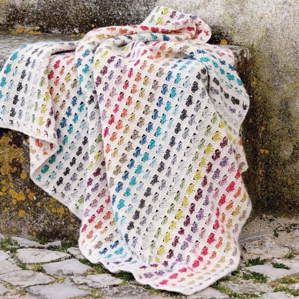 Haakpakket Hartjes deken Scheepjes Stonewashed | Haken & Handwerken ...