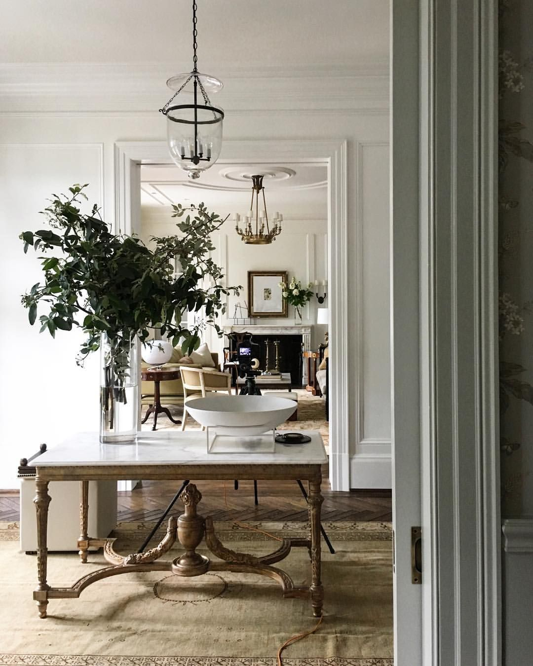 Transitional Foyer Hallway: Pin By Lee Haddock On French