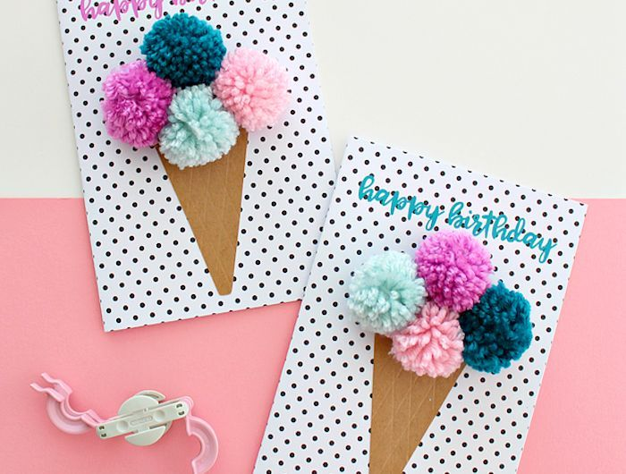 ▷ 1001 + Ideen, wie Sie eine Geburtstagskarte basteln #hoppyeaster