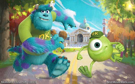 Monsters University 2013 Monster University Disney Art Drawings Wallpaper Com