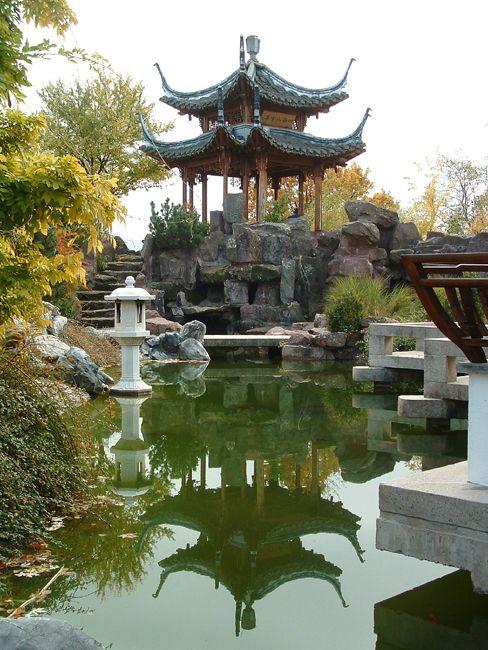Chinese Garden Stuttgart Chinesischer Garten Zen Garten Garten