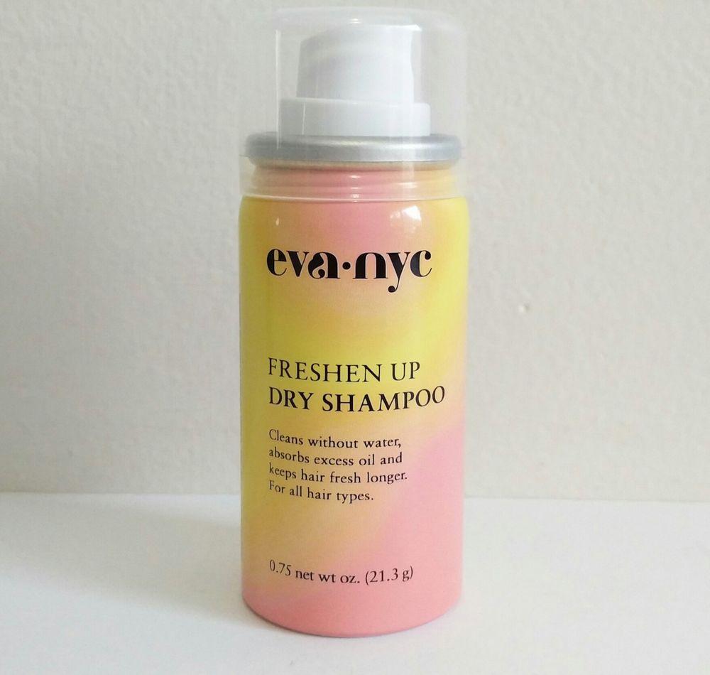 Eva Nye Freshen Up Dry Shampoo 0 75 Oz Travel Size New This Is A New Eva Nye Travel Size Dry Shamp Travel Size Dry Shampoo Travel Size Products Dry Shampoo