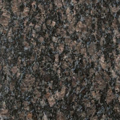 Stonemark Granite 3 In Granite Countertop Sample In Sapphire Blue