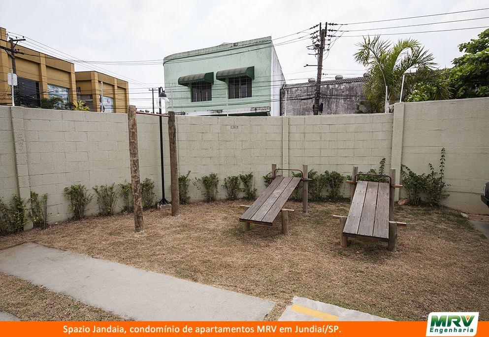 Paisagismo do Jandaia. Condomínio fechado de apartamentos localizado em Jundiaí / SP.