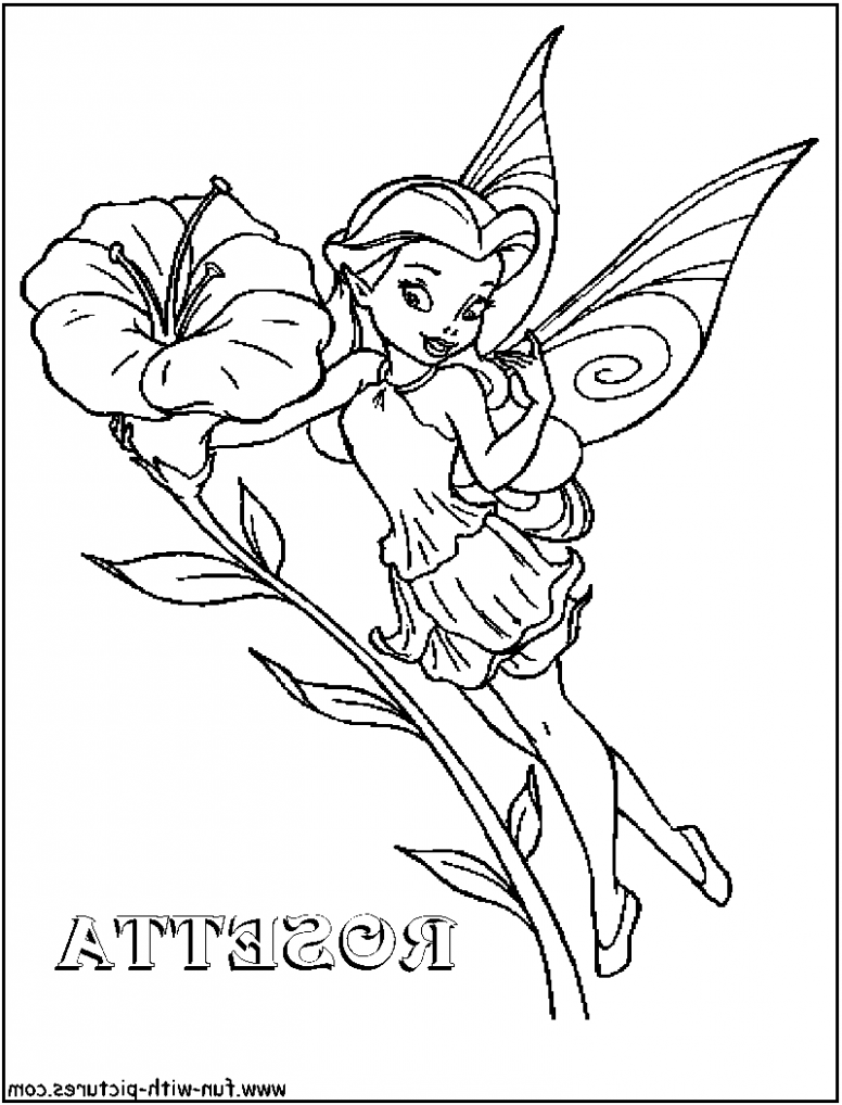 The Ten Secrets That You Shouldnt Know About Disney Fairies Coloring Pages Rosetta