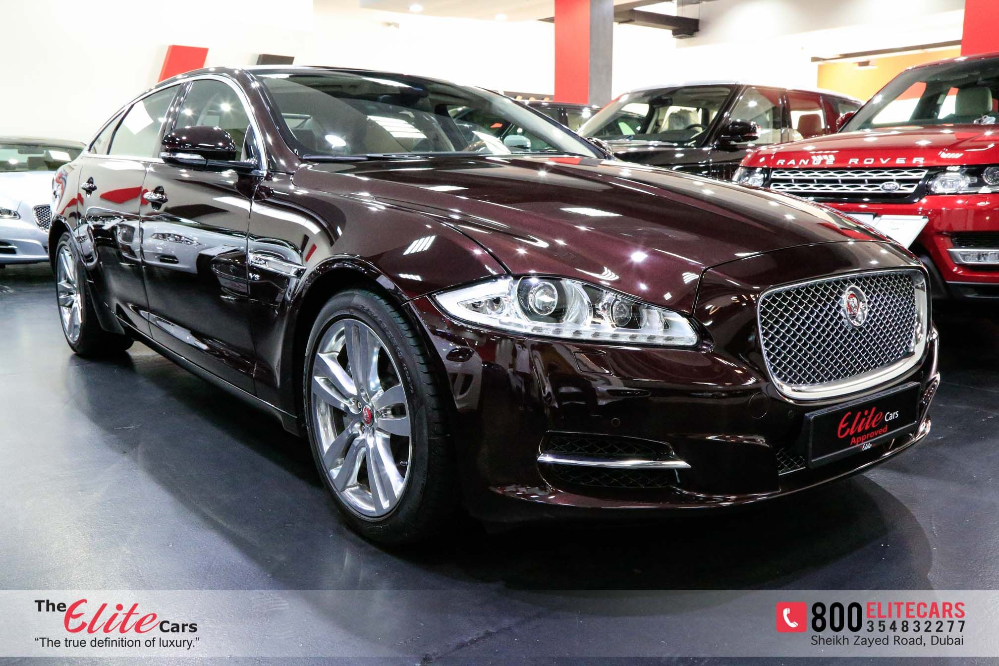 Jaguar Xjl 2014 for Sale in Dubai, AED 219,000 , Caviar