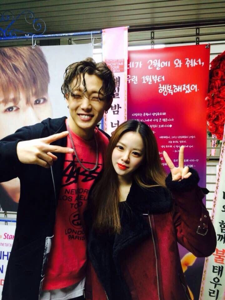 bobby with song eunjin | ikon | Ikon, Instagram, Instagram posts