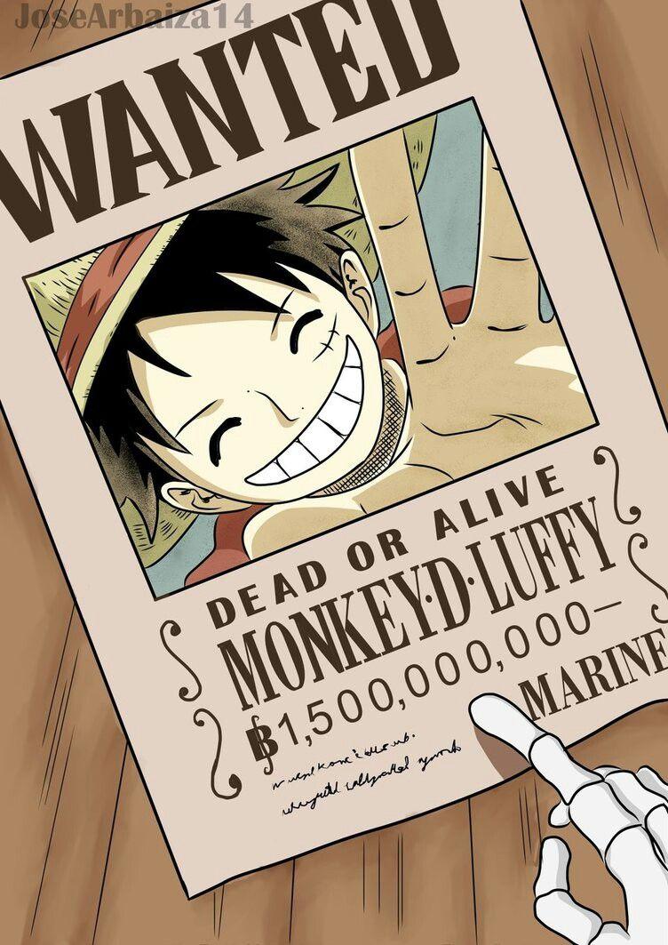 One Piece 903 Luffy 1 500000000 Beli One Piece Chapter One Piece Anime One Piece Manga
