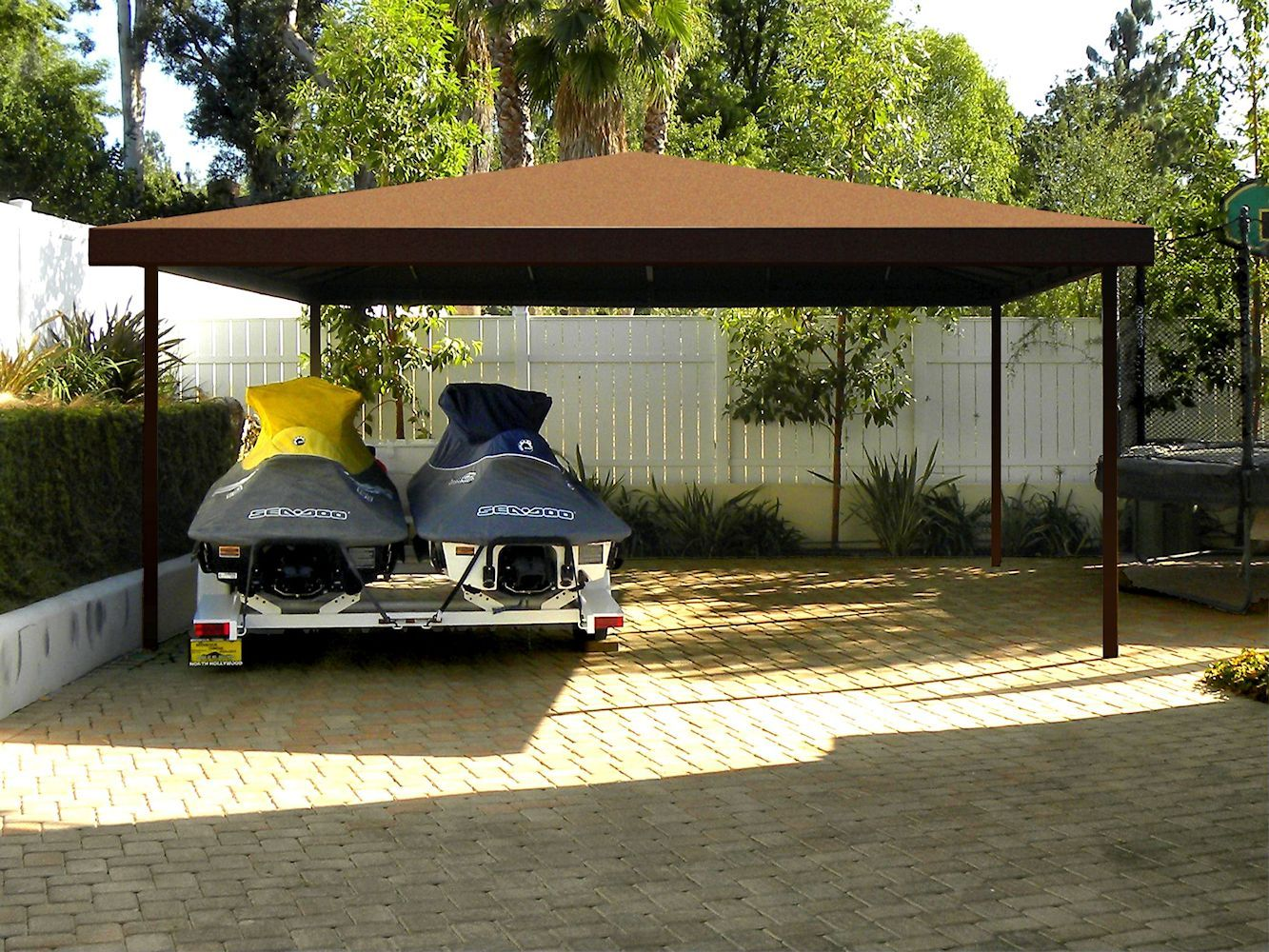 Carports In Canvas Or Aluminum By Superior Awning Carport