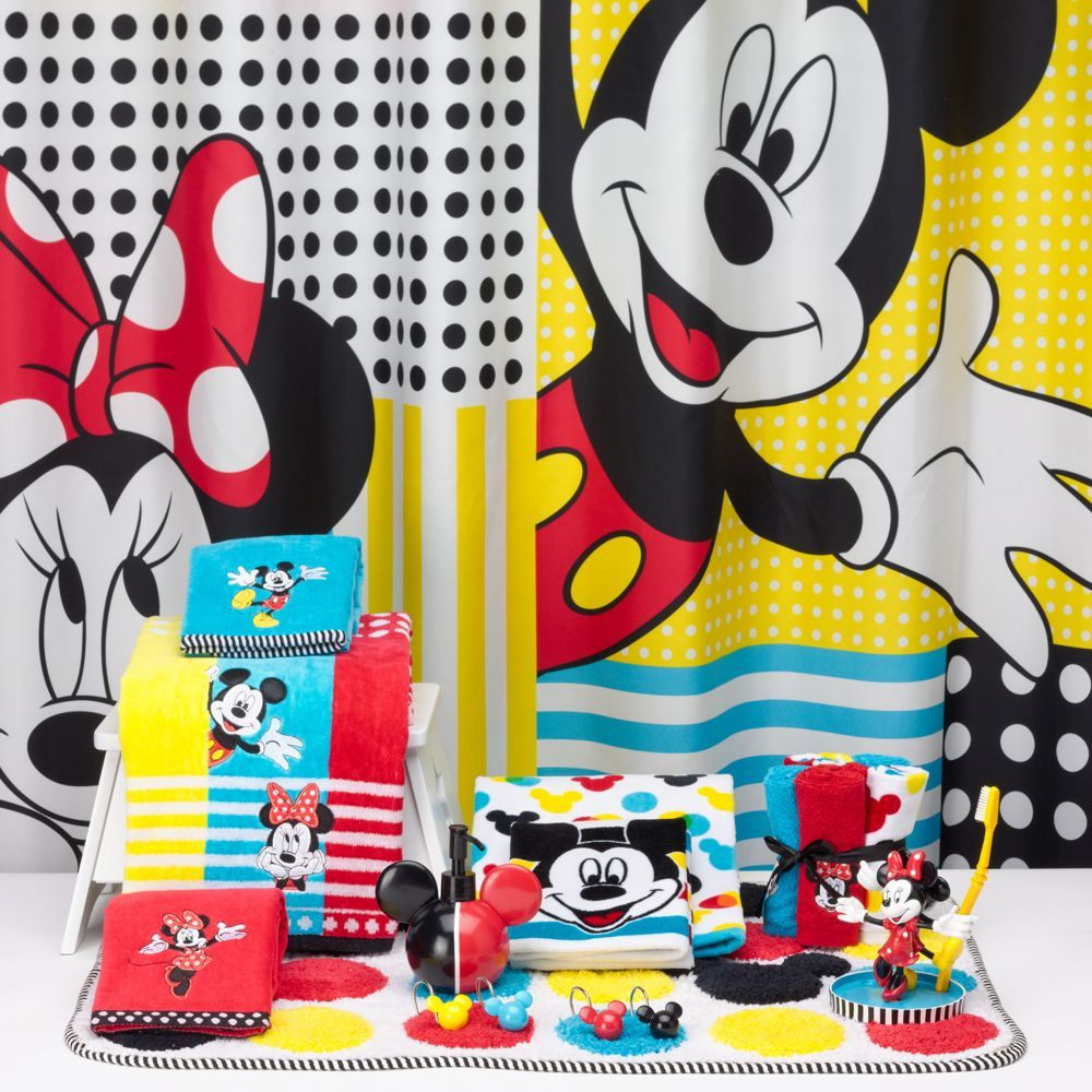 Disney S Mickey Minnie Mouse Shower Curtain Collection By