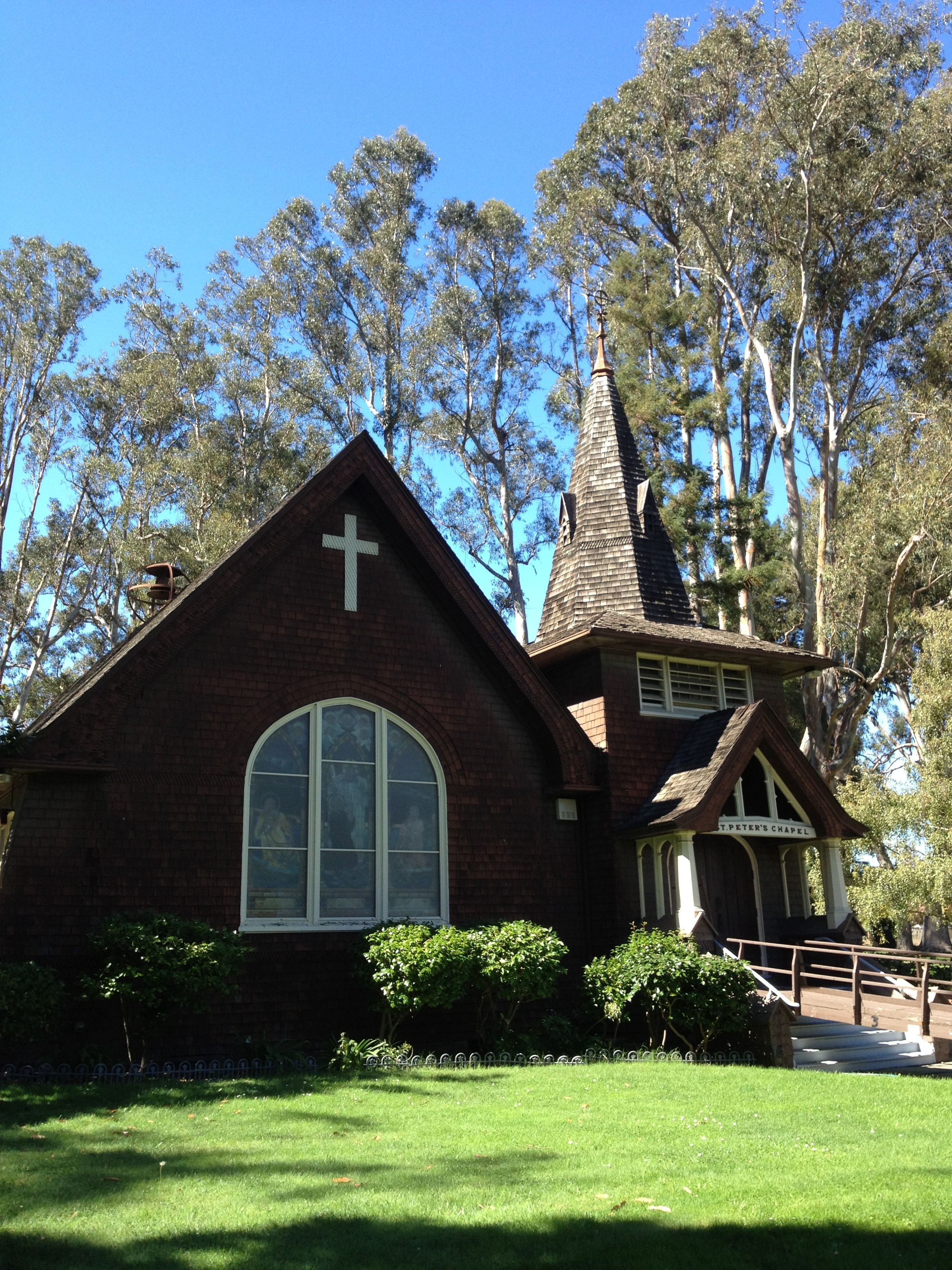 St. Peter's church on Mare Island Naval Base House