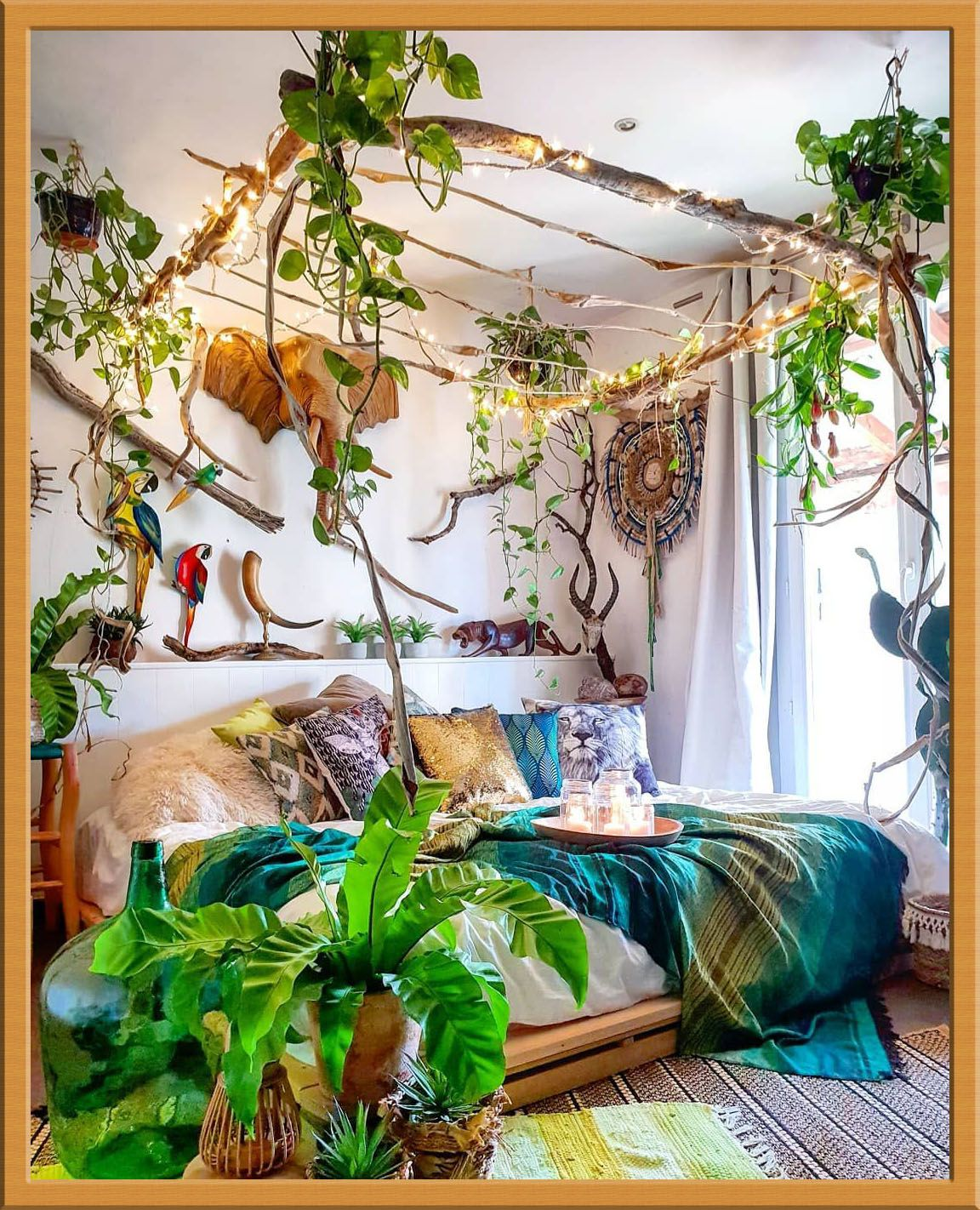 Here Is A Quick Cure For Bohemian Homedecor